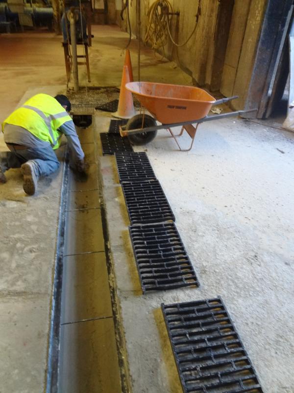 Garage Floor Trough Drains Carpet Vidalondon