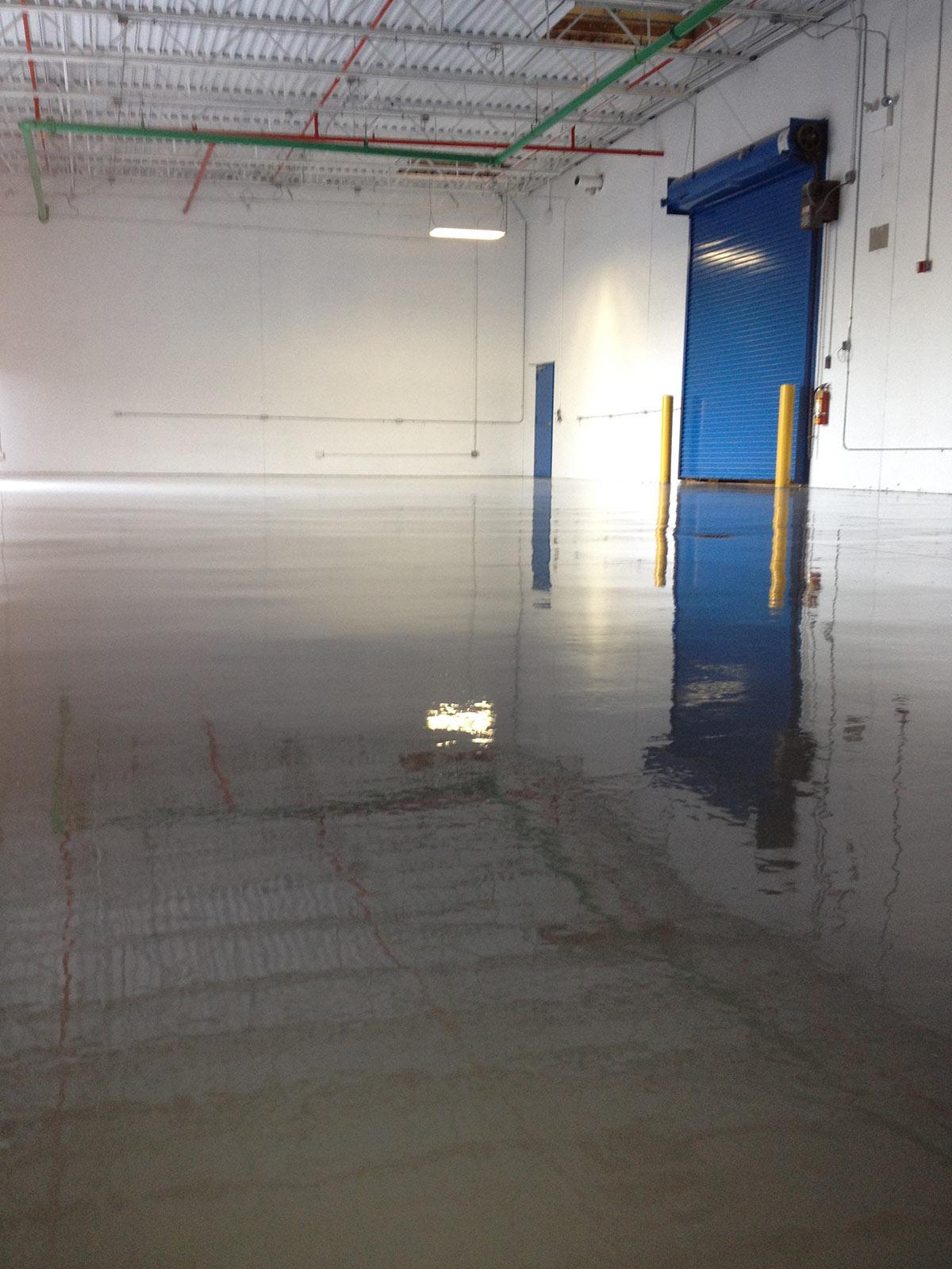 Fresno Epoxy Flooring 1 Wall Drain Tank Beam