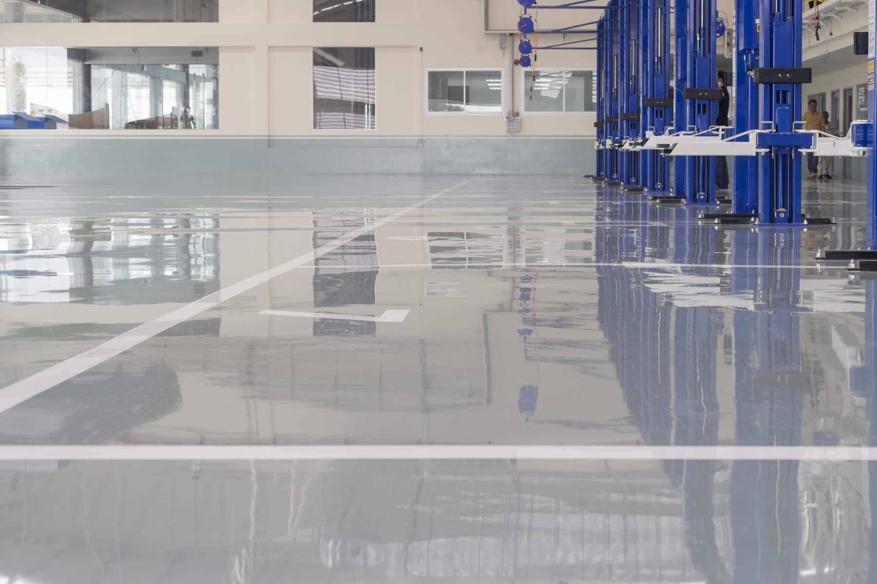 Northern California Epoxy Floors Extreme Industrial